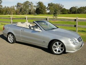 2003 Mercedes-Benz CLK320 A209 Elegance Silver 5 Speed Auto Touchshift Cabriolet Mordialloc Kingston Area Preview