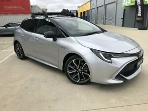 2020 Toyota Corolla ZWE211R ZR Hybrid Silver Pearl - Black Roof Continuous Variable Hatchback Kilmore Mitchell Area Preview