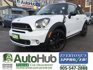 2015 MINI Cooper S COUNTRYMAN|AWD|NAV|LEATHER|SUNROOF|XENON HEAD