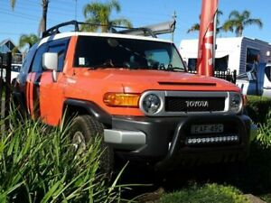 2012 Toyota FJ Cruiser GSJ15R Orange 5 Speed Automatic Wagon South Nowra Nowra-Bomaderry Preview