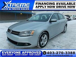 2011 Volkswagen Jetta TDI $109 bi-weekly APPLY NOW DRIVE NOW