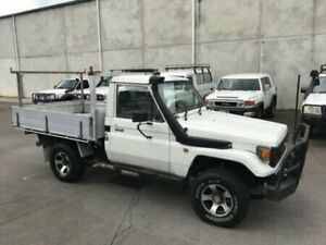 1998 Toyota Landcruiser HZJ75RP SINGLE CAB White 5 Speed Manual 4x4 Utility Bells Creek Caloundra Area Preview