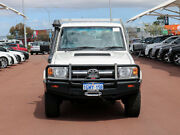 2015 Toyota Landcruiser VDJ79R MY12 Update GXL (4x4) White 5 Speed Manual Cab Chassis Jandakot Cockburn Area Preview