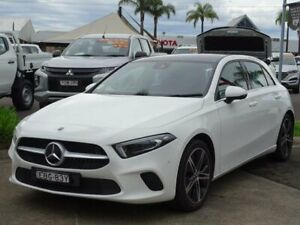 2019 Mercedes-Benz A180 177 MY19 White 7 Speed Auto Dual Clutch Hatchback South Nowra Nowra-Bomaderry Preview