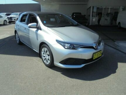 2015 Toyota Corolla ZRE182R MY15 Ascent Silver Pearl 7 Speed CVT Auto Sequential Hatchback Belmore Canterbury Area Preview