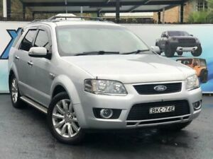 2009 Ford Territory SY Ghia Silver Sports Automatic Wagon Campbelltown Campbelltown Area Preview