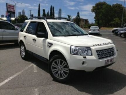 2010 Land Rover Freelander 2 LF MY11 Td4 SE White 6 Speed Sports Automatic Wagon