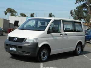 2009 Volkswagen Transporter T5 MY08 (SWB) White 5 Speed Manual Van Maidstone Maribyrnong Area Preview