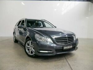 2013 Mercedes-Benz E250 212 MY13 CDI Tenorite Grey 7 Speed Automatic Wagon Petersham Marrickville Area Preview