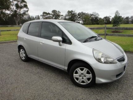 2008 Honda Jazz MY06 VTi Silver 7 Speed CVT Auto Sequential Hatchback Mordialloc Kingston Area Preview
