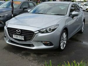 2016 Mazda 3 BN MY17 SP25 Silver 6 Speed Automatic Hatchback South Nowra Nowra-Bomaderry Preview