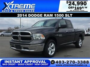 2014 Dodge Ram 1500 SLT New Tires $169 b/w APPLY NOW DRIVE NOW