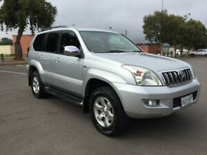 2007 Toyota Landcruiser Prado KDJ120R 07 Upgrade VX (4x4) 5 Speed Automatic Wagon Clarence Gardens Mitcham Area Preview