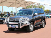 2016 Toyota Landcruiser VDJ200R MY16 Sahara (4x4) Grey 6 Speed Automatic Wagon Jandakot Cockburn Area Preview