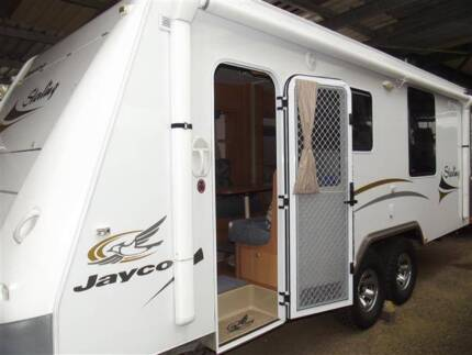 #1821Jayco 24' sterling a/c Free r/out awning annex 2 x slideouts Valentine Lake Macquarie Area Preview