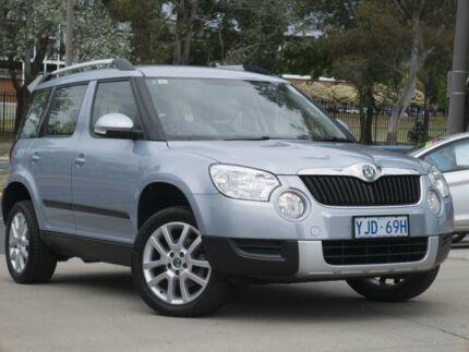 2012 Skoda Yeti 5L 103TDI DSG Aqua Blue 6 Speed Sports Automatic Dual Clutch Wagon