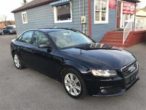 2009 Audi A4 2.0L Quattro|Leather| Sunroof loaded