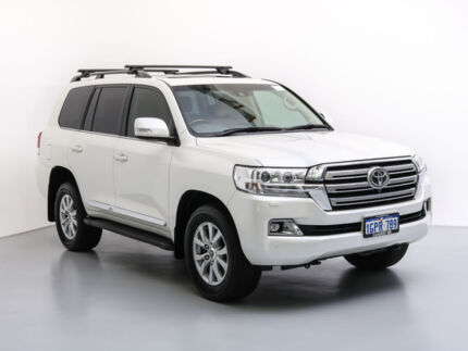 2016 Toyota Landcruiser VDJ200R MY16 Sahara (4x4) White 6 Speed Automatic Wagon Jandakot Cockburn Area Preview