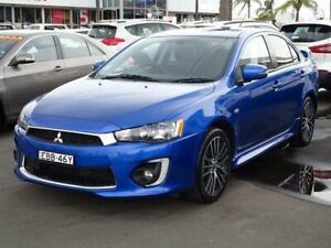 2016 Mitsubishi Lancer CF GSR Blue 5 Speed Manual Sedan South Nowra Nowra-Bomaderry Preview