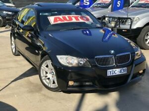 2007 BMW 323i E90 Black 6 Speed Auto Steptronic Sedan Werribee Wyndham Area Preview