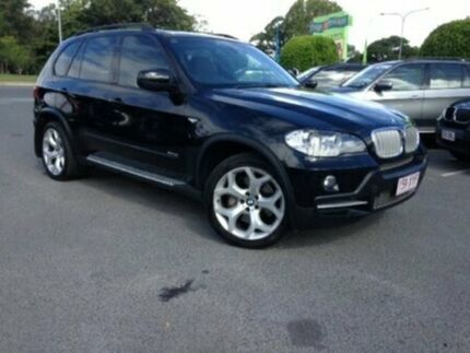 2008 BMW X5 E70 d Steptronic Black 6 Speed Sports Automatic Wagon
