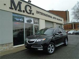 2012 Acura MDX Tech Pkg AWD 7 Pass. w/Navi/DVD/Roof
