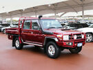 2014 Toyota Landcruiser VDJ79R MY12 Update GXL (4x4) Red 5 Speed Manual Double Cab Chassis