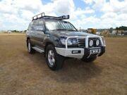 2003 Toyota Landcruiser UZJ100R GXL Black 5 Speed Manual Wagon Archerfield Brisbane South West Preview