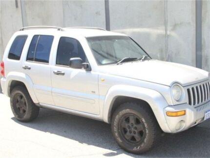 2004 Jeep Cherokee KJ Silver Automatic Wagon