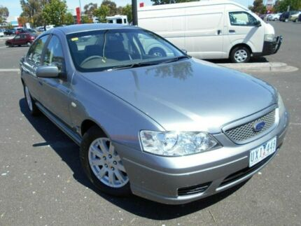 2005 Ford Falcon BF Futura (LPG) Grey 4 Speed Auto Seq Sportshift Sedan Braybrook Maribyrnong Area Preview