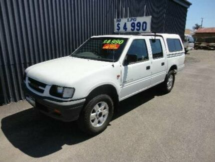 1998 Holden Rodeo TF R7 LX Crew Cab White 5 SPEED Manual Utility Kippa-ring Redcliffe Area Preview