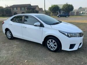 2014 Toyota Corolla ZRE172R Ascent S-CVT White 7 Speed Constant Variable Sedan Kempsey Kempsey Area Preview