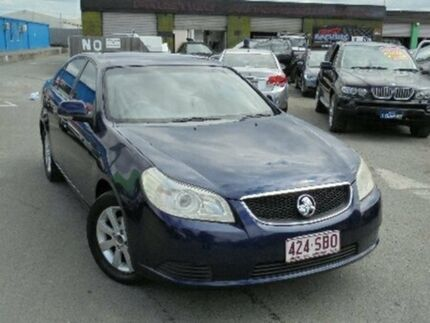 2008 Holden Epica EP MY09 CDX Blue 6 Speed Sports Automatic Sedan