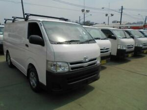 2011 Toyota HiAce KDH201R MY11 Upgrade LWB White 5 Speed Manual Van Five Dock Canada Bay Area Preview