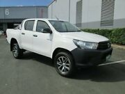 2015 Toyota Hilux GUN125R Workmate Double Cab White 6 Speed Sports Automatic Utility Archerfield Brisbane South West Preview