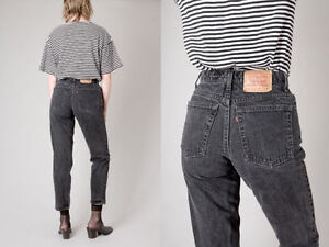 JEANS LEVIS RED TAG Black Levis Jeans Skinny