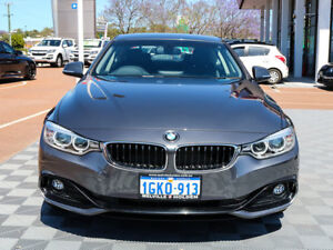 2014 BMW 420d F32 Luxury Line Grey 8 Speed Sports Automatic Coupe