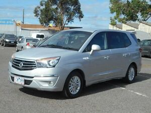 2014 Ssangyong Stavic A100 MY13 Silver 5 Speed Automatic Wagon Maidstone Maribyrnong Area Preview