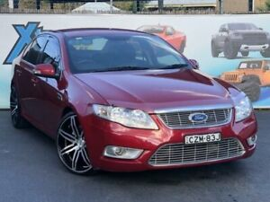 2010 Ford Falcon FG G6E Turbo Red Sports Automatic Sedan Campbelltown Campbelltown Area Preview