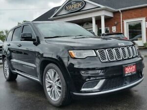 2017 Jeep Grand Cherokee Summit 4x4, HEMI, NAV, Leather Heated V