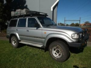 1994 Toyota Landcruiser GXL (4x4) Grey 4 Speed Automatic 4x4 Wagon Moorabbin Kingston Area Preview
