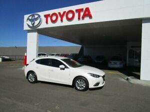 2014 Mazda 3 BM Maxx White 6 Speed Automatic Hatchback Belmore Canterbury Area Preview