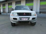 2001 Mitsubishi Pajero NM MY2002 GLS White 5 Speed Manual Wagon Archerfield Brisbane South West Preview