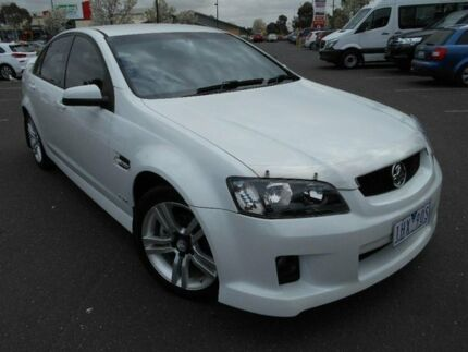 2009 Holden Commodore VE MY10 SV6 White 6 Speed Automatic Sedan Braybrook Maribyrnong Area Preview