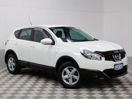 2012 Nissan Dualis J10 Series II ST (4x2) White 6 Speed CVT Auto Sequential Wagon