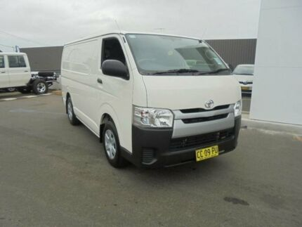 2014 Toyota Hiace KDH201R MY14 LWB French Vanilla 4 Speed Automatic Van Belmore Canterbury Area Preview