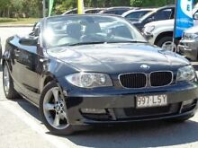 2009 BMW 120I E88 Black 6 Speed Automatic Convertible Bundall Gold Coast City Preview