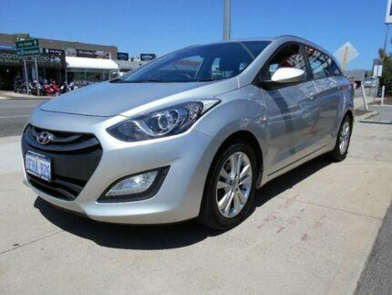 2013 Hyundai i30 FD MY12 CW SX 1.6 CRDi Silver 4 Speed Automatic Wagon Fremantle Fremantle Area Preview