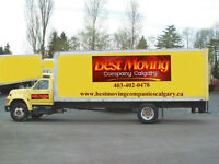 Calgary Moving Companies- MOVE WITH THE BEST- 403-402-0478