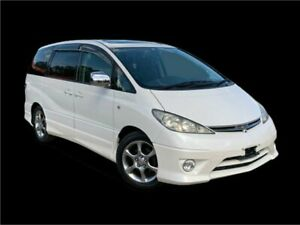 2003 Toyota Estima ACR30 Aeras White 4 Speed Automatic Wagon Slacks Creek Logan Area Preview